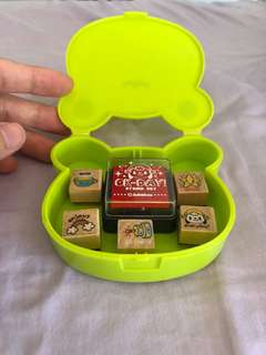 Mini Stamp Set with free case