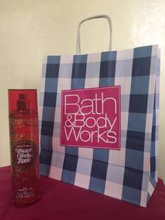 Bath and Body Works Winter Candy Fragrance Mist