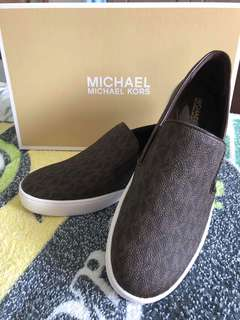 Micheal Kors Brown Shoes