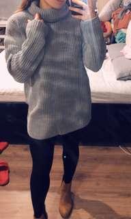 New boohoo knit dress size S