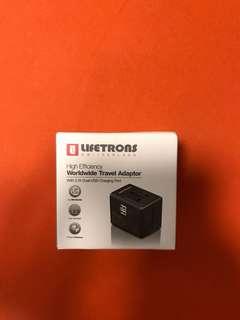 Lifetrons worldwide travel adaptor
