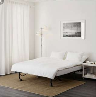 Ikea Lycksele Havet Two seated sofa bed