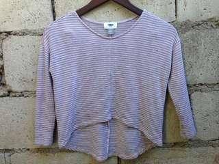 (Sale) Striped Crop Top❣️