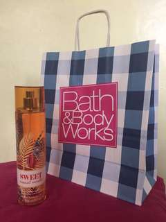 Bath and Body Works Sweet Tropical Vanilla Fragrance Mist