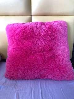 Pink Fluffy Blue Magic Pillow