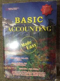 Basic Accounting by WIN Ballada (2013 issue- 18th edition)