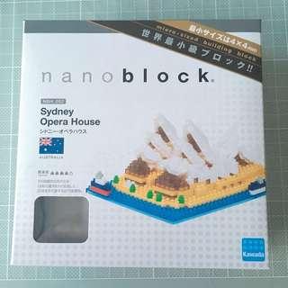 Nanoblock 悉尼歌劇院 NBH_052 Sydney Opera House