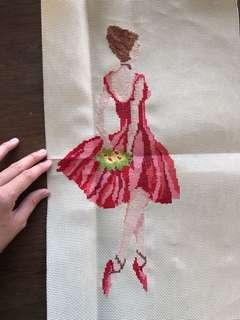 Homemade Ballerina Stitch