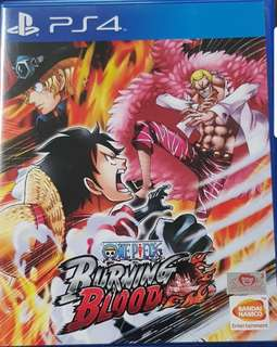 PS4 game (One Piece)