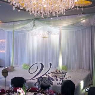 [專業婚宴佈置]V8 Wedding 超過250種Backdrop design!