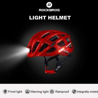 Rockbros Cycling Helmet 1001 (Red)