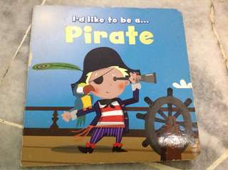 Children's pirate book