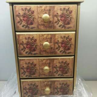 Table Top Organizer Cabinet