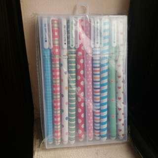 colored pen set