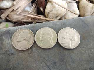 five cents 3pcs
