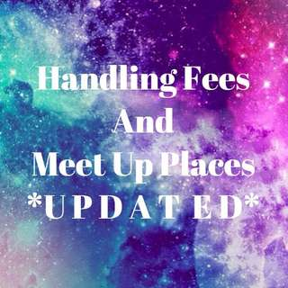 Handling Fee Rates and Meet Up Places