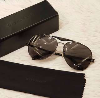 Givenchy Gafas de Sol SGV-A13-0568 (59 mm) Metal / Negro (2016 MODEL) ❤MARK DOWN SALE P7800 ONLY❤ With hardcase & wipe cloth Swipe for detailed pics