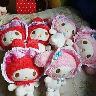 Japan and Mall pull out stuffed toys