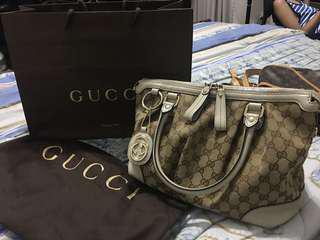 GUCCI Authentic Canvass Bag