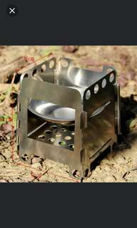 Outdoor Cooking Folding Wood Stove Camping Folding Wood Stove