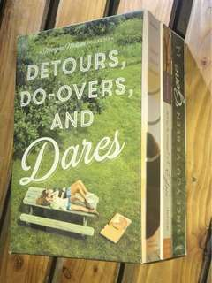 Books for sale!!! Do Overs And Dares A Morgan Matson Collection
