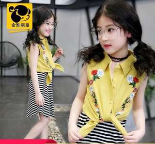 KIDS 2in1 OUTFIT 6-12 YRS OLD JLH
