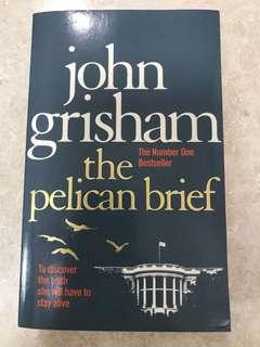 """John Grisham """"the pelican brief"""""""