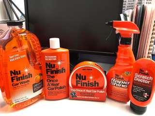 Nu Finish汽車保養產品一套