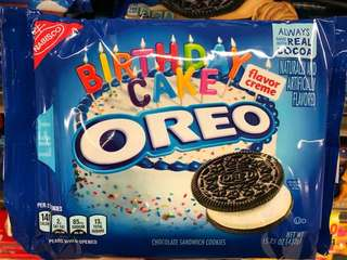 Oreo Chocolate Sandwich Cookies Birthday Cake ( From Chicago, US 🇺🇸 )