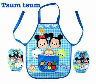 Tsum Tsum kids Apron Set