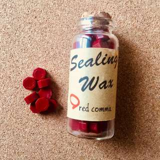 Seal Wax Beads in Bottle (Wax Seal Stamp)