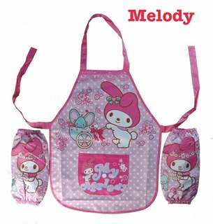 Melody kids apron set