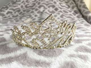 SALE! Bridal crown IMPORT TAIWAN