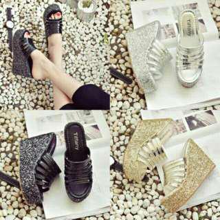 Sandal Wedges Cantik 11051