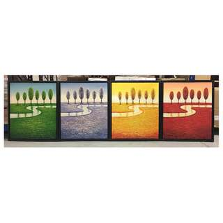 Painting - Seasons River (4 in 1) Clearance stock