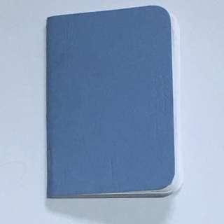 Handmade A7 Notebook
