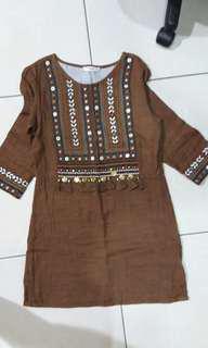 🚚 Mango民俗風洋裝