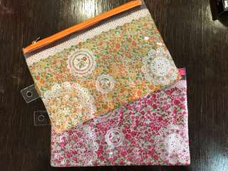 Makeup nail accessories pouch