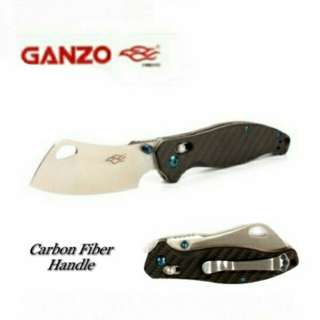 Ganzo Folding knife (Model no: F7551-CF) for Outdoor Activities (ie: camping, hiking, fishing & etc)