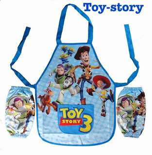Toy-story kids apron set