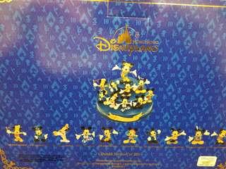 香港迪士尼10 週年限量擺設