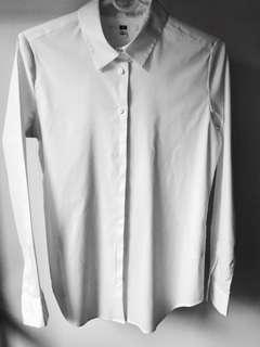 UNIQLO White Button Down Shirt