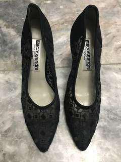 Black Evening Shoes (branded)