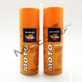 REPSOL CHAIN LUBE/OIL 400ml/253g (100% ORIGINAL)