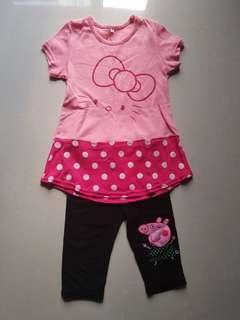 🚚 粉紅kitty套裝