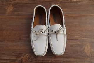 white zara shoes original , used (9/10)