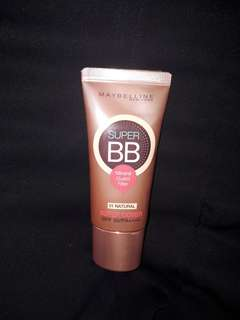 MAYBELLINE SUPER BB (SHADE : 01 NATURAL) MINERAL GUARD FILTER SPF 50/PA++++