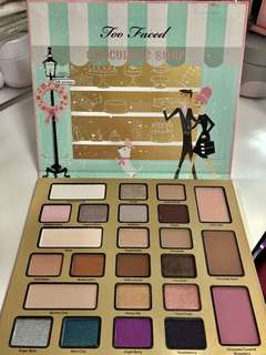 Too Faced Eyeshadow Palette (Too Faced Holiday/Christmas) Unused