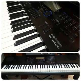 Keyboard Casio WK6600