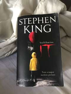 Stephen King's IT book